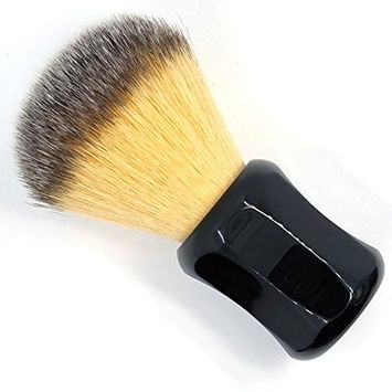 CSB Soft Synthetic Bristle Shaving Brush with Deluxe Black Resin Handle Beard Brush