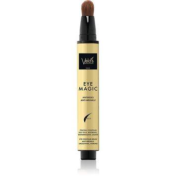 Veld's Eye Magic Smooth Gel, Anti-Aging Wrinkles Eye Contour Brush, 0.5 Ounce