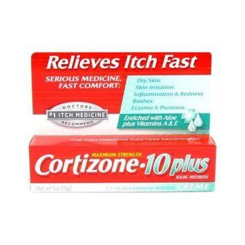 Cortizon-10-Plus Itch Medicine Max Strength Creme 1 oz.