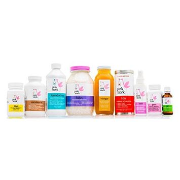 Pink Stork: Premier Bundle for Prenatal Health and Morning Sickness Relief -9 Products for Complete Prenatal Support -Relief From Nausea, Constipation, Heartburn, Fatigue & More
