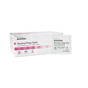 Alcohol Prep Pad - Item Number 1113-BX - Medium - 200 Each / Box