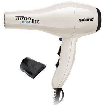Solano Turbo Ultralite Hair Dryer - White