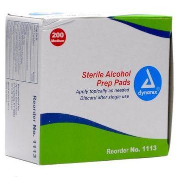Dynarex Alcohol/Acetone Swabsticks 1's - 10/50/Cs