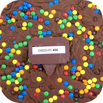 Home Made Creamy Chocolate M&M Fudge - 1 Lb Box : Grocery & Gourmet Food []