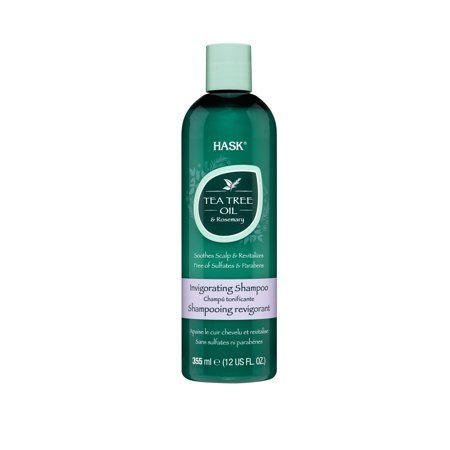 HASK Tea Tree & Rosemary Oil Invigorating Shampoo, 12FO