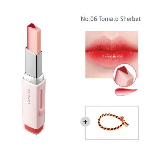 Laneige Two Tone Tint Lip Bar 0.07oz(2g) No.06 Tomato Sherbet
