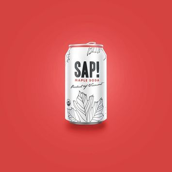 Sap! Maple Soda Water – Case of 16 – USDA Organic Gluten Free Non-GMO – Delicious alternative with only 80 calories – low glycemic and contains electrolytes and 46 natural nutrients