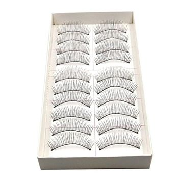 Bestpriceam New 10 Pairs Long Thick Soft Handmade Fake False Eye Lash Makeup Extensions