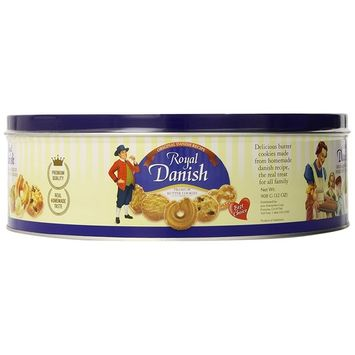 Royal Danish Butter Cookies, 2 Pound