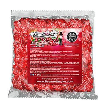 Cherry Licious 500G Ultra Premium Beamer Ice Drops Hookah Shisha Smoking Gel. Each bowl lasts 2-4 Hours! USA Made, Huge Clouds, Amazing Taste! Better Taste & Clouds than Tobacco!