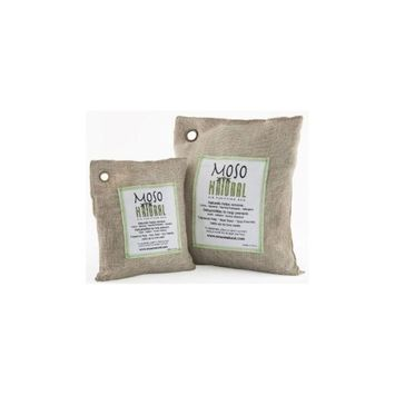 Moso Natural 2 Pack Air Purifying Bag, (1) 200 gram, (1) 500 gram - Natural