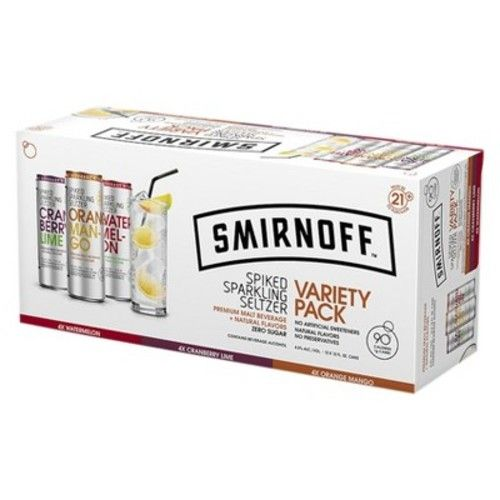Smirnoff® Spiked Seltzer Mixed Box - 6pk / 12oz Cans