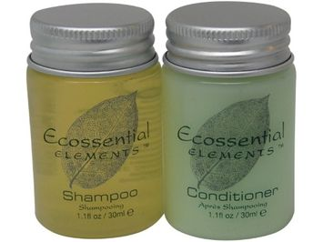 Ecossential Elements Conditioner and Shampoo Lot of 10 (5 of each) 1.1oz Bottles
