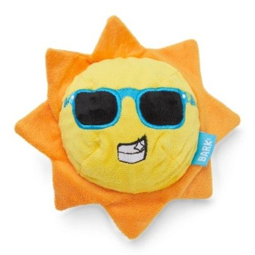 BARK Beamin' Benny Sun Shine Dog Toy