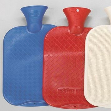 Fashy Red Classic Cross-Hatched Water Bottle