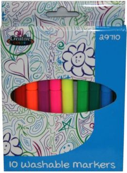 Creative Colors Markers Broad Tip 10ct (Pack of 48)
