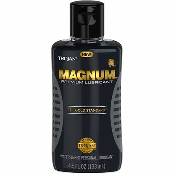 Magnum Water-Based Personal Lubricant 4.5oz [Magnum Lubricant]