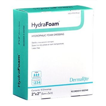 HYDRAFOAM HYDROPHILIC 2X2 (BX)