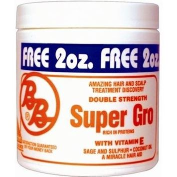 Bronner Brothers Double Strength Super Gro Maximum, 6 Ounce by Bronner Brothers