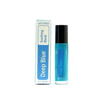doTERRA Deep Blue Roll-On - Therapeutic Grade Essential Oil Aromatherapy - 1 Bottle X 10ml - New & sealed +