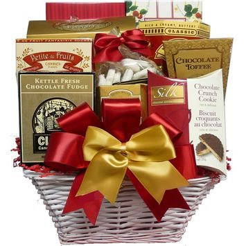 Art of Appreciation Gift Baskets The Sweet Life Cookie, Candy, and Treats Gift Basket