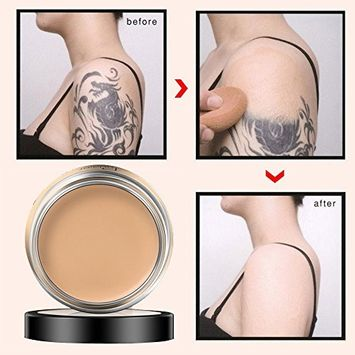 Alonea Concealer, Full Coverage Cream Concealing Foundation Concealer Makeup Silky Smooth Texture 3 Pack