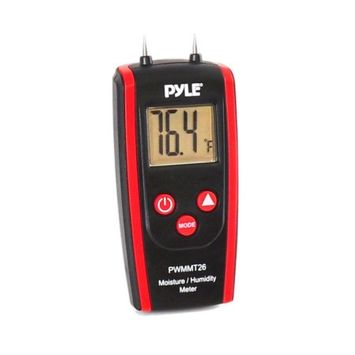 Pyle PWMMT26 Digital Moisture and Humidity Meter for Wood/ Cement/ Mortar