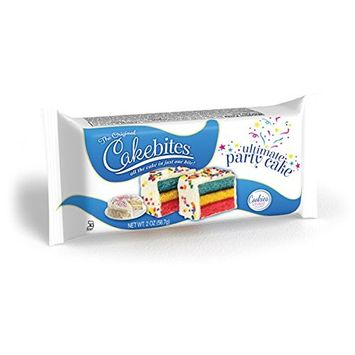 The Original Cake Bites Ultimate Party Cake 6 Pack (18 Individual Pieces)