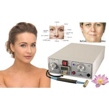Beauty Ion Pro Deluxe Sistema de cuidados com a pele anti-envelhecimento para lifting facial, elevador de pescoço, salão de barriga e rejuvenescimento e Medispa
