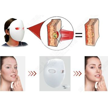 2017 Made in Korea LED 850nm IR Photon Facial Mask PDT Photodynamic Skin Rejuvenation Reduces Wrinkles
