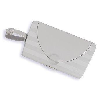 Ubbi On The Go Gray Wipe Holder Baby Gift [Travel Dispenser]