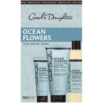 Carol's Daughter Bath & Body Luxury Kit, Ocean Flowers for Dry, Dull Skin, 3 Pieces