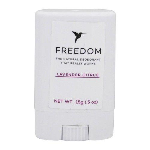 Natural Deodorant Travel Size Lavender Citrus - 0.5 oz.