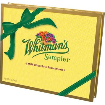 Russell Stover Candies Whitman's All Milk Sampler Box, 10oz