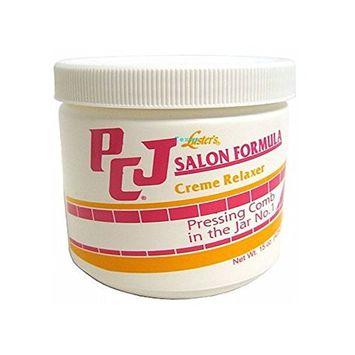 PCJ Salon Formula Creme Relaxer Pressing Comb in the Jar 15oz