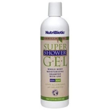 Super Shower Gel, Non-Soap, Vanilla Chai, 12 fl oz (355 ml) by Nutribiotic