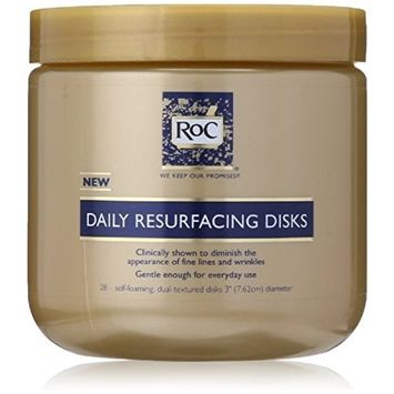 RoC Daily Resurfacing Disks 28 Each (Pack of 5)
