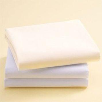 Bassinet Cotton Sheets - Set of 6 - Color: Ecru Size: 16 x 32