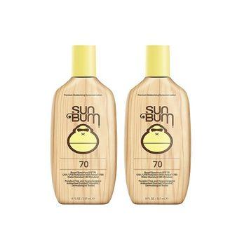 Sun Bum Moisturizing HiQuQ Sunscreen Lotion, SPF 70 (2 Pack)