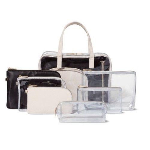 Sonia Kashuk™ Large Pencil Case Makeup Bag - Clear
