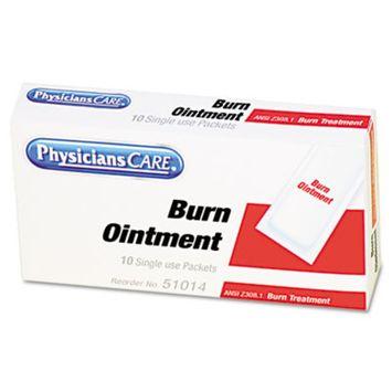 First Aid Kit Refill Burn Cream Packets, 10/Box, Sold as 1 Box, 10 Each per Box