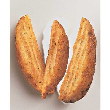 McCain Route 66 Crinkled Cut Wedge Fry - Appetizer, 5 Pound -- 6 per case.
