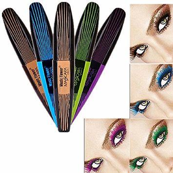 UCLL Color Mascara Long Thick Curling Waterproof Mascara Lash Fattening Mascara Black Brown Green Blue Purple