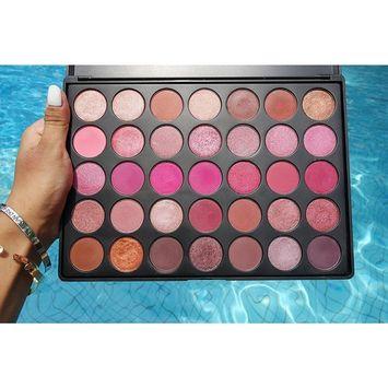 Bestselling Valentine Palette in Scarlett | 100% VEGAN & CRUELTY FREE Eyeshadow Palette | 35 Beautiful Versatile Makeup | Warm Makeup Palette | Metallic Eyeshadow | Matte Shades