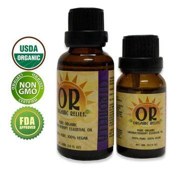 Organic Relief - Organic Citronella Essential Oil 30ml