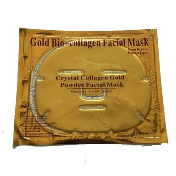Yphone Premium 24K Gold Premium Gold Collagen Face Mask Beauty Enhancement For Men And Women (Pack of 3)