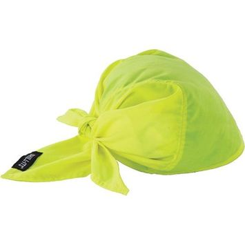 Ergodyne Lime Cool Triangle Hat 12586