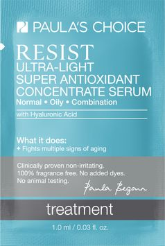 Paula's Choice RESIST Ultra-Light Super Antioxidant Concentrate Serum