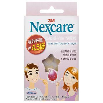3M - Nexcare Acne Dressing (Cute Shape) 28 pcs