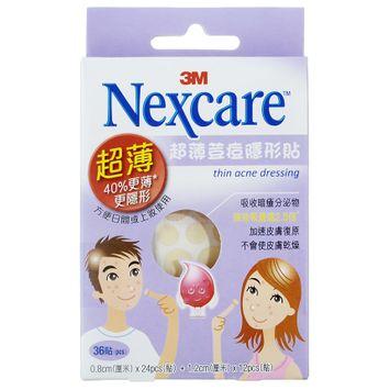 3M - Nexcare Thin Acne Dressing 36 pcs